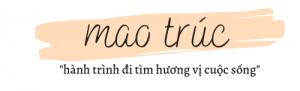 mao trúc Logo